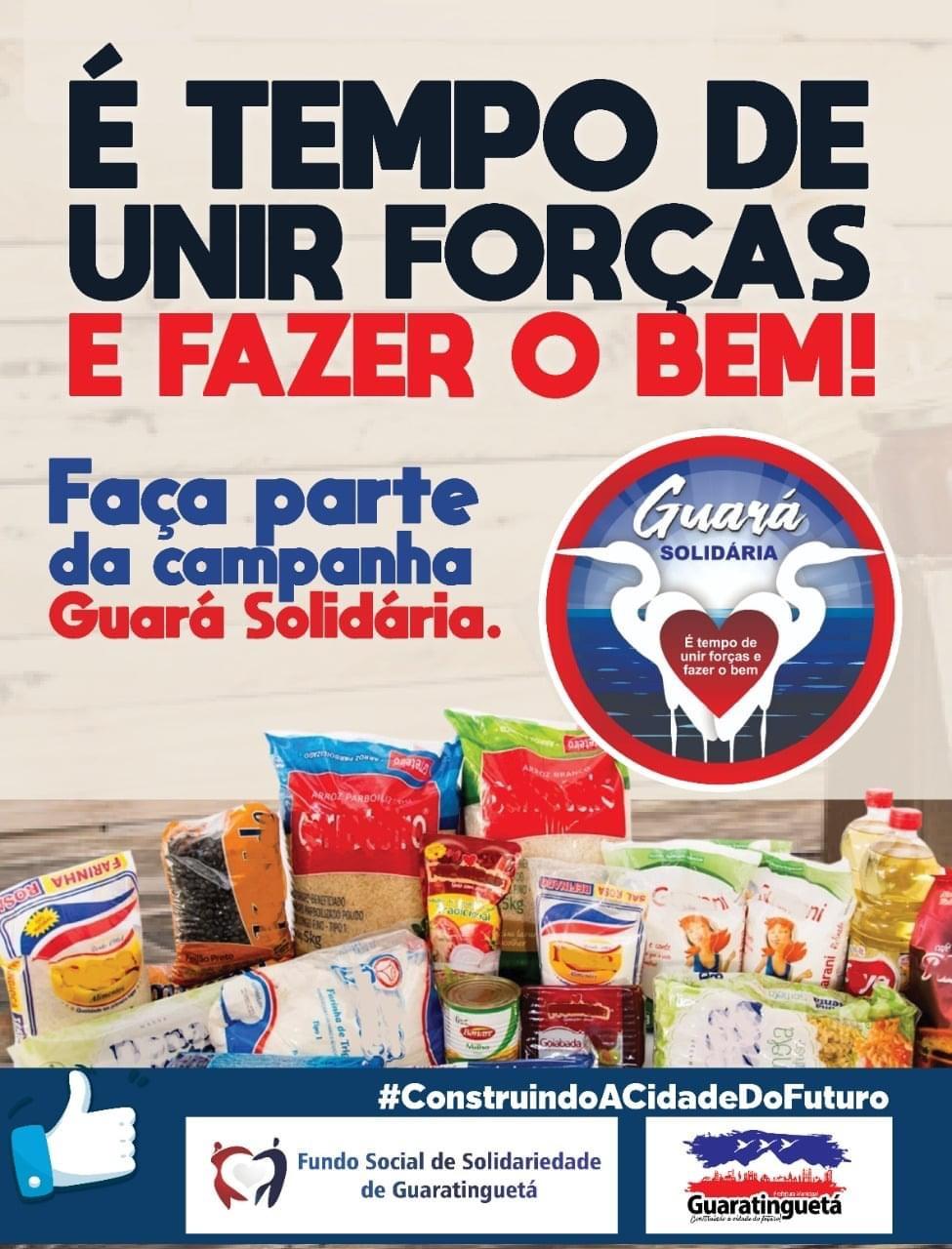 2ª edição da Campanha Guará Solidária já se iniciou