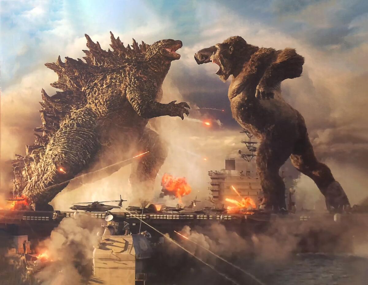 Cinema: Godzilla vs Kong no trailer Chinês mostra o confronto em trechos inéditos