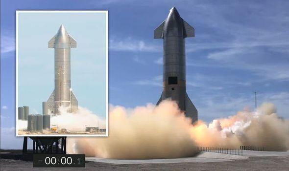 Sucesso: A Starship SN10 da Spacex aterrissou
