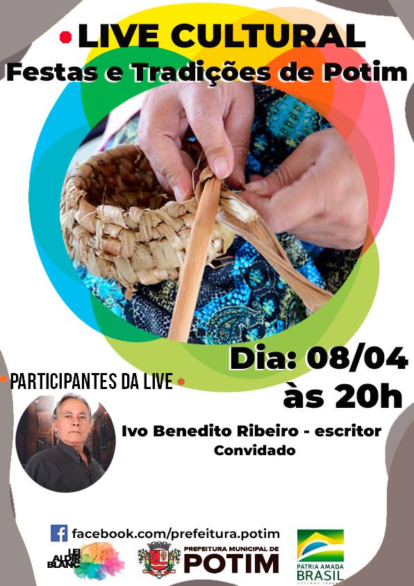 Potim anuncia programa cultural sobre festas e tradições do município