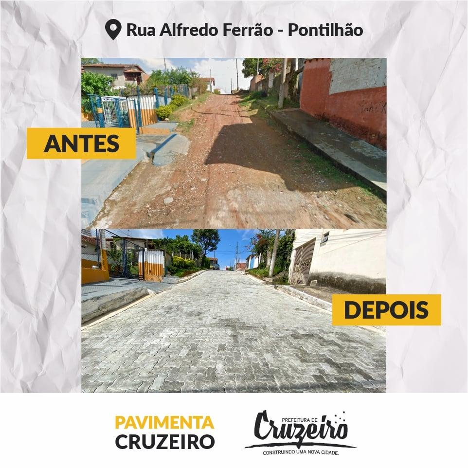 """Operação """"Pavimenta Cruzeiro"""" segue promovendo melhoras na cidade"""