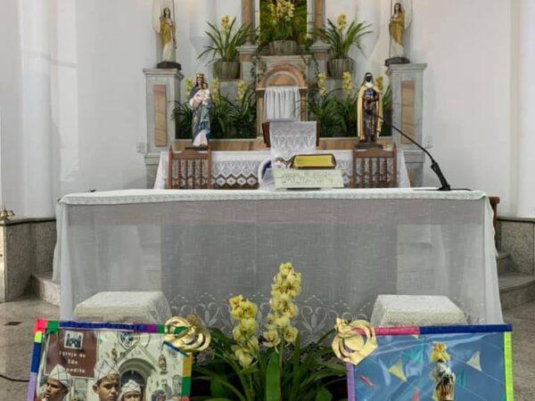 Feriado de São Benedito é marcado por homenagens em Aparecida