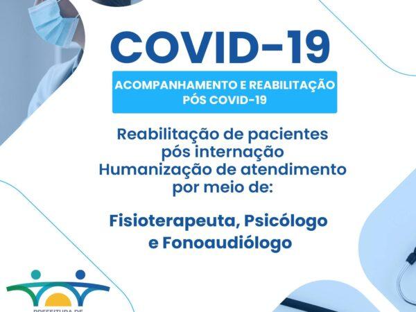 Cachoeira Paulista oferece tratamento para pacientes com sequelas da COVID-19