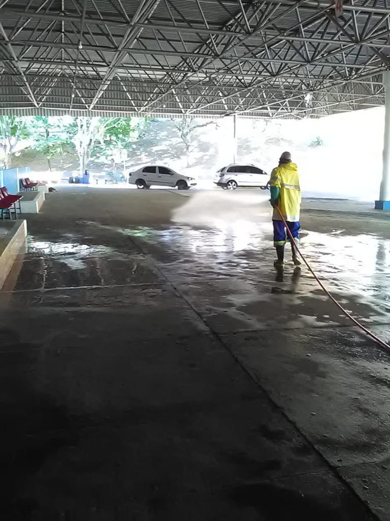 SABESP realiza ação de limpeza em Cachoeira Paulista