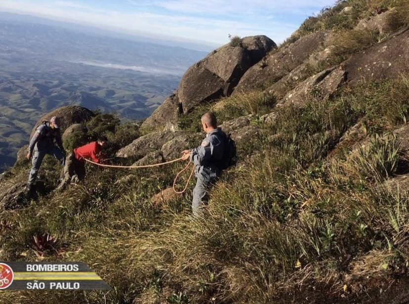 Turista se perde no pico Itaguaré em Cruzeiro