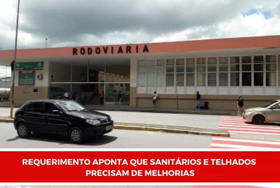 Presidente da Câmara propõe melhorias para a rodoviária de Guará