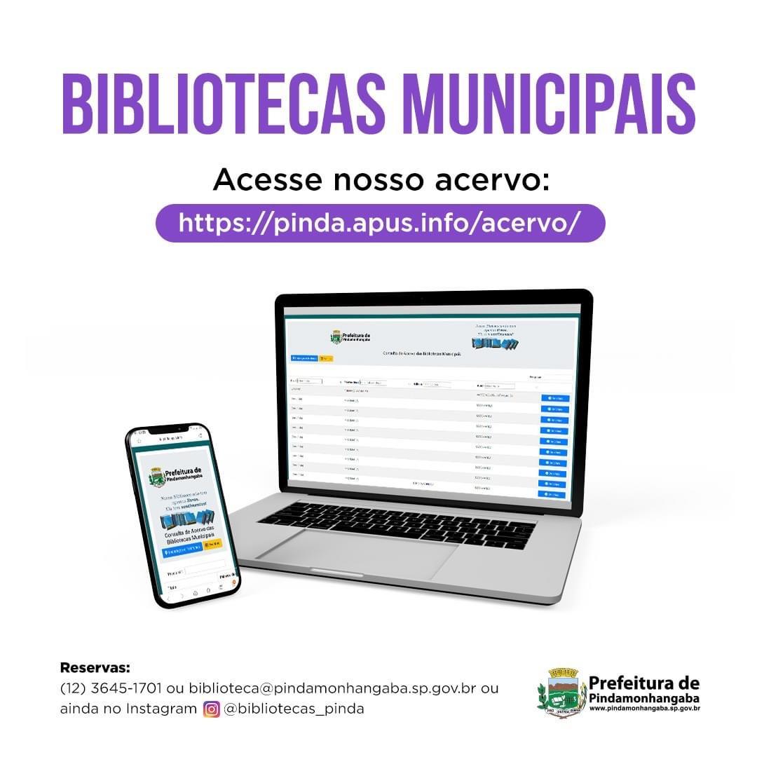 Bibliotecas Municipais de Pindamonhangaba