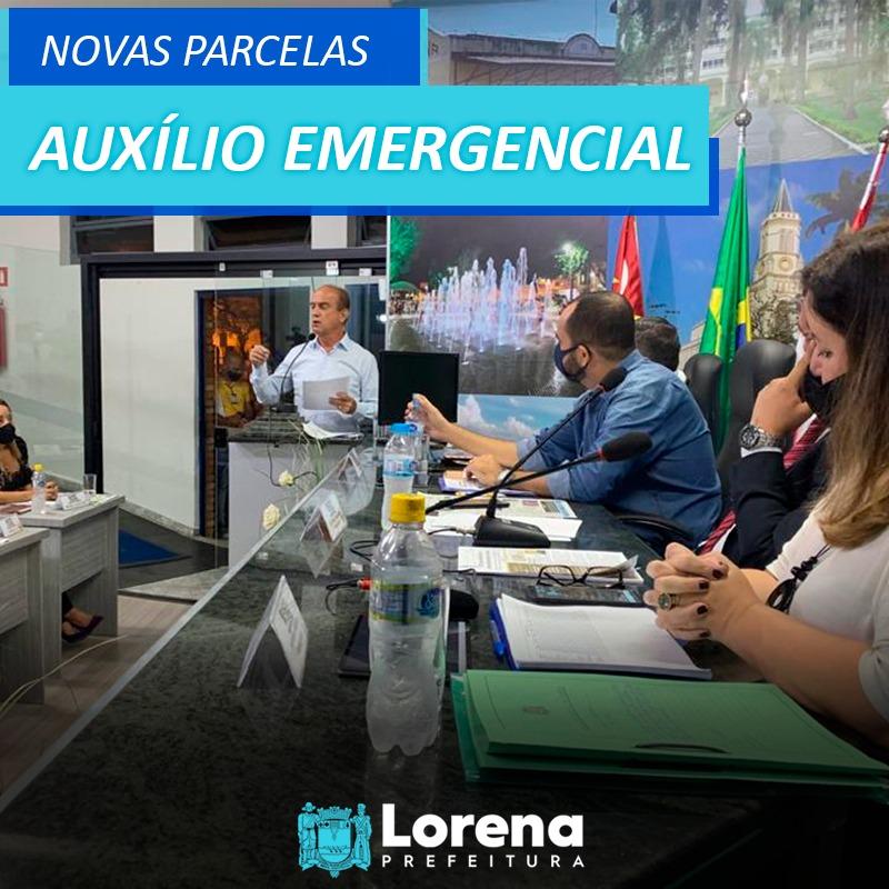 Retomada do Auxílio Emergencial em Lorena
