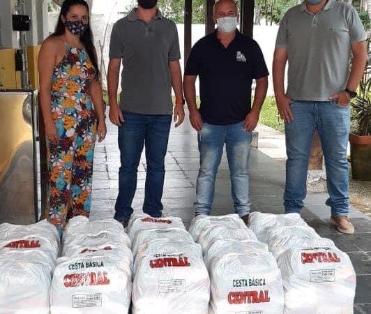 Fundo Social de Lavrinhas recebeu 20 cestas básicas doadas pelo grupo COINBAL