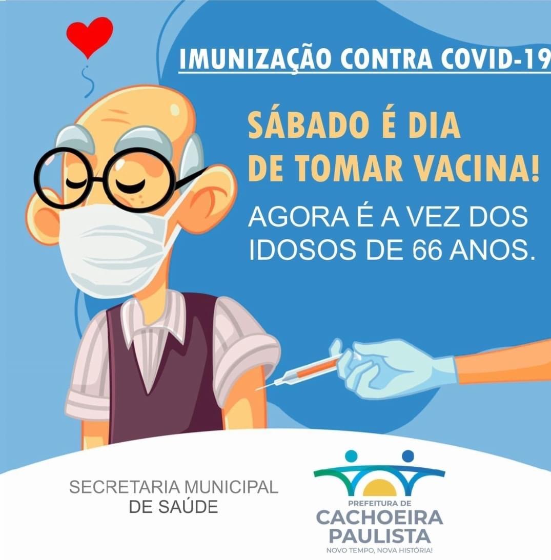 Cachoeira Paulista antecipa o cronograma de vacinação contra a Covid-19