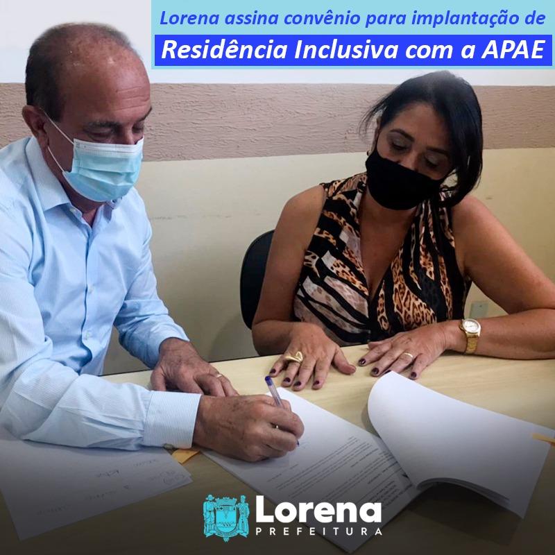 Lorena planeja implementação de Residência Inclusiva