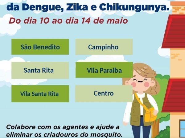 Programação Semanal dos Agentes de Endemia em Guará