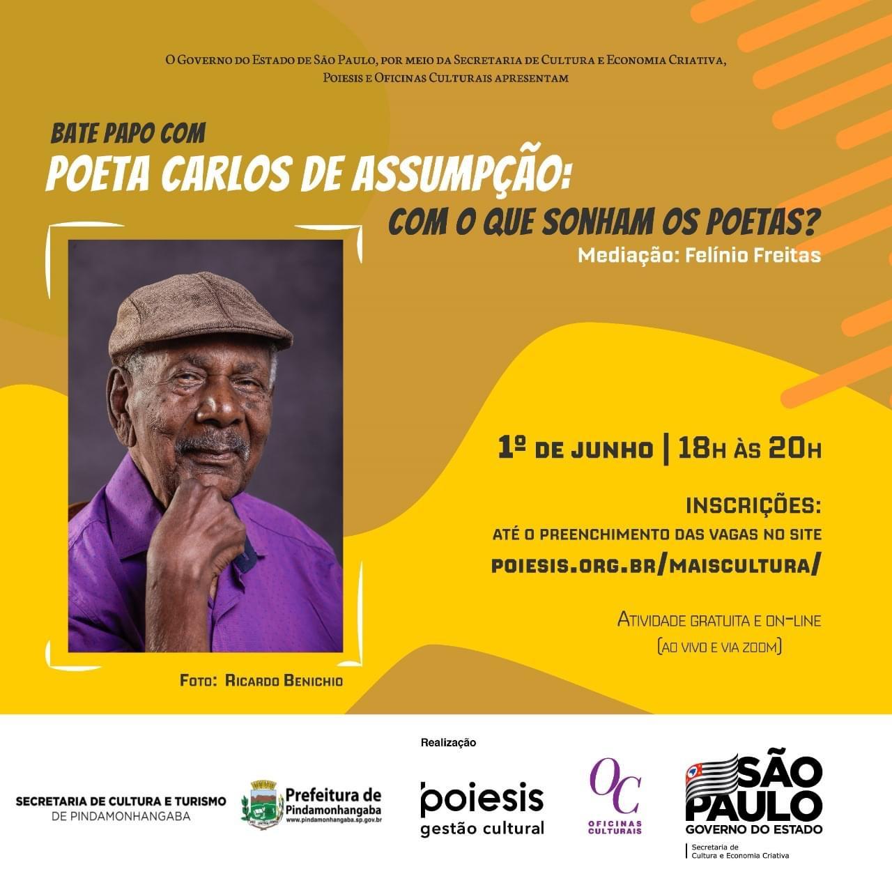 Arte e Cultura têm planejamentos para o mês de junho em Pinda