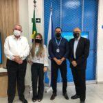 Prefeito e Secretário de Cachoeira participam da inauguração da Loja Magazine Luiza