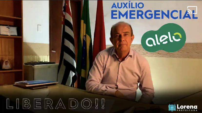 Auxílio Emergencial do Cartão Alelo é liberado em Lorena