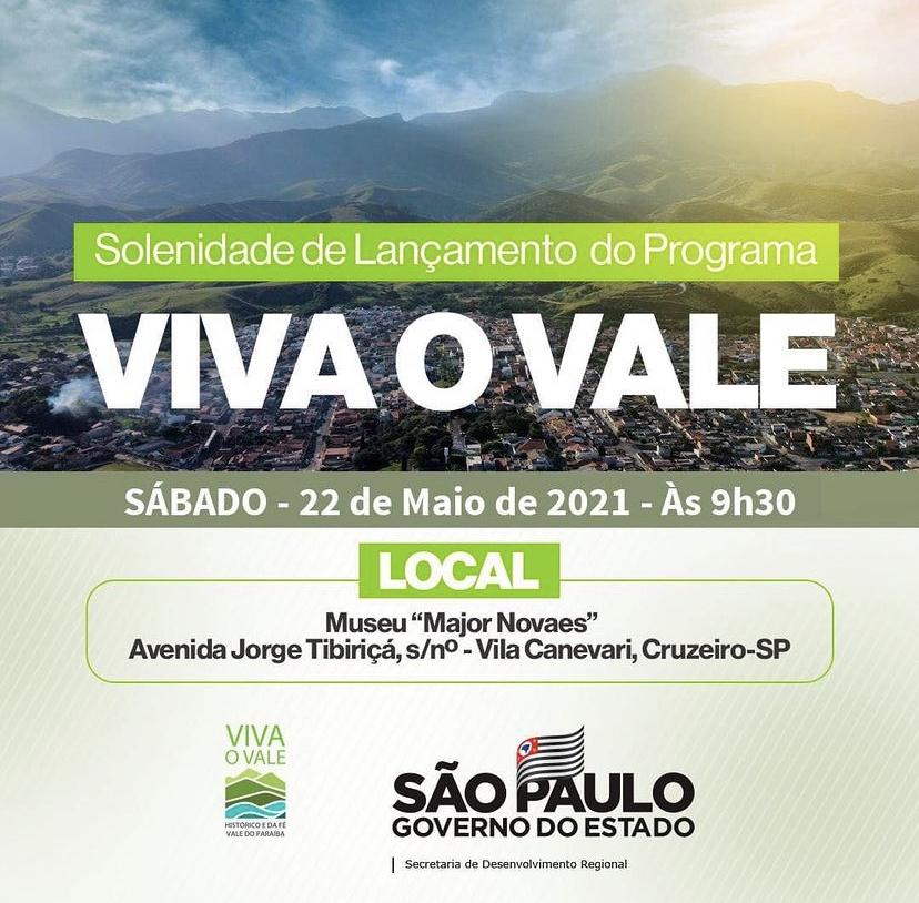 João Dória estará em Cruzeiro neste sábado (22)