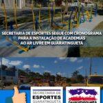 Mais academias ao ar livre serão instaladas em Guaratinguetá