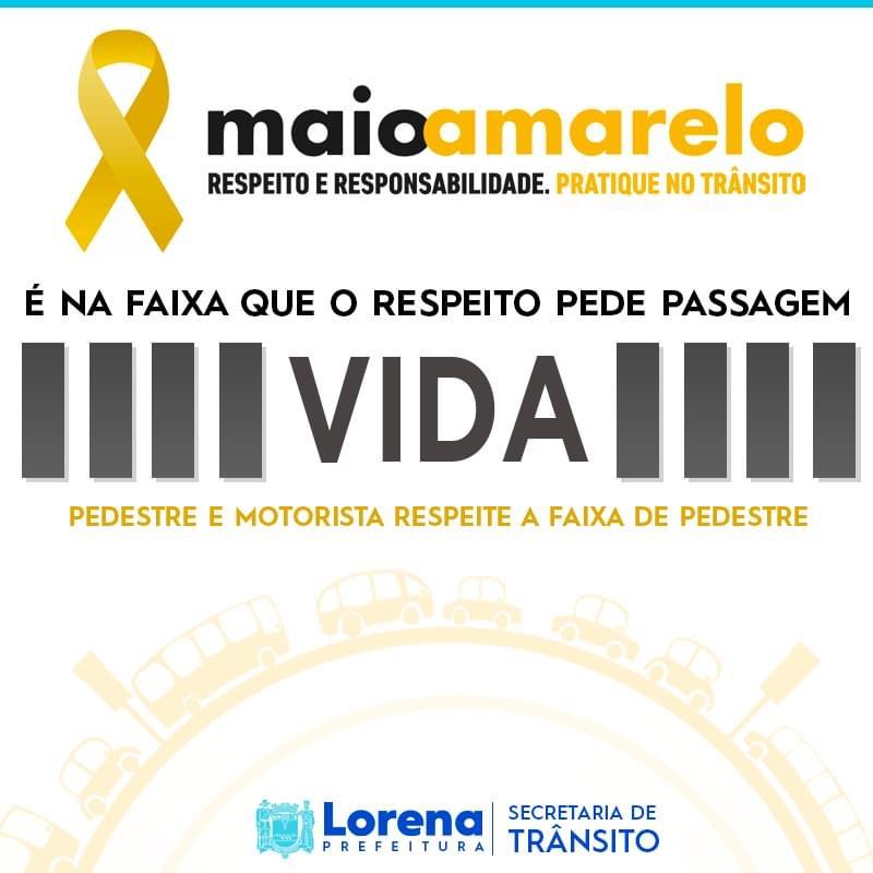 Maio Amarelo: Conscientização no Trânsito