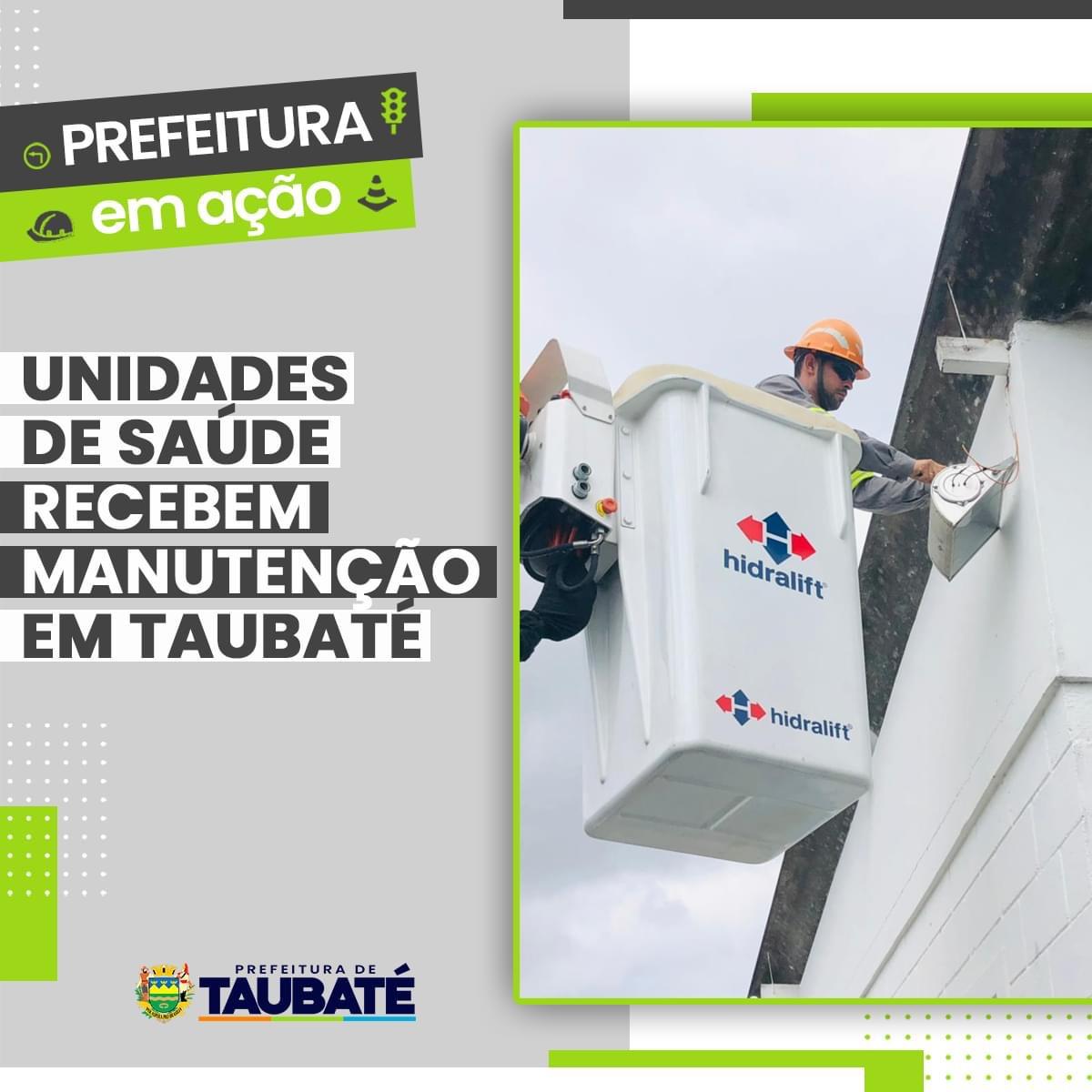 Unidades de Saúde recebem manutenção em Taubaté