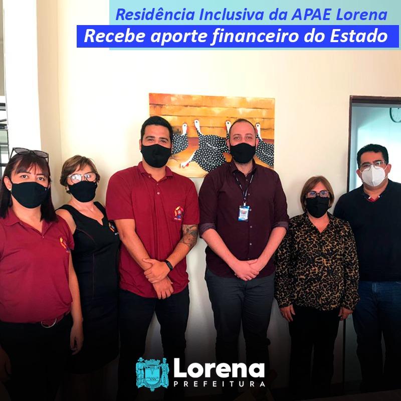 Residência Inclusiva da APAE Lorena recebe suporte financeiro do Estado