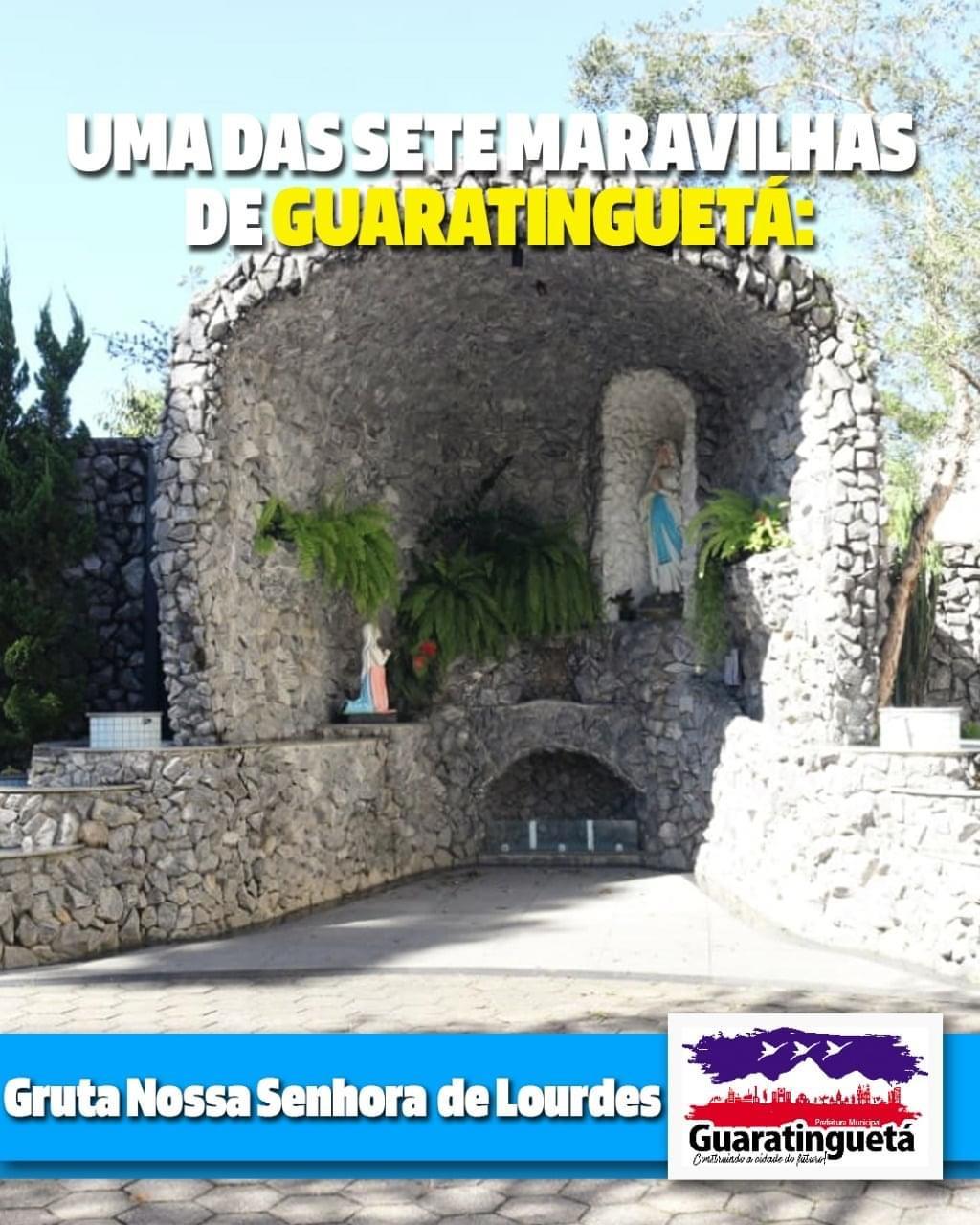 Projeto elege a Gruta de Nossa Senhora de Lourdes como uma das Sete Maravilhas de Guaratinguetá
