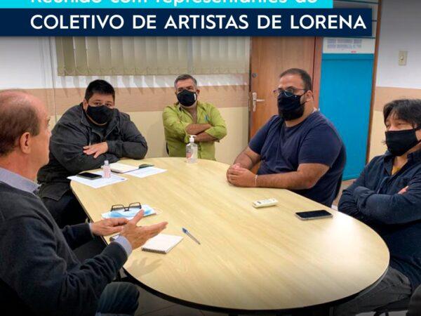 Reunião para tratar assuntos referentes à Arte e Cultura em Lorena