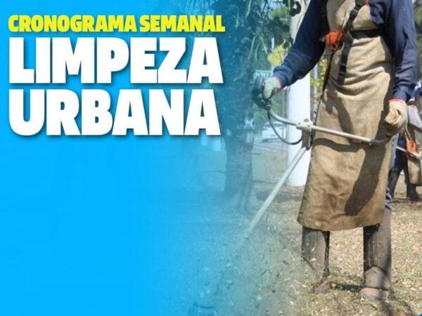 Guará divulga a programação da limpeza urbana desta semana