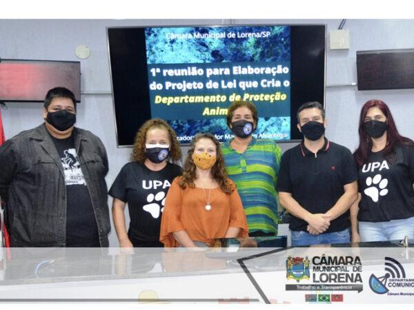 1ª reunião para criação do Departamento de Proteção Animal em Lorena