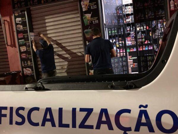 Em São José, a fiscalização para evitar a propagação da COVID-19 está intensificada
