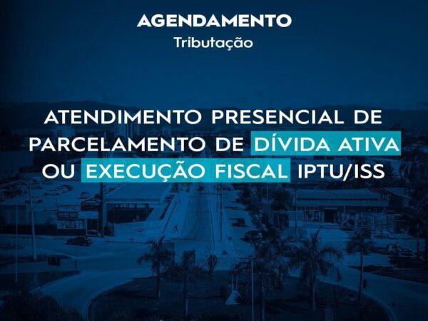 Agendamento para parcelamento da Dívida Ativa ou para Execução Fiscal na Prefeitura de Lorena