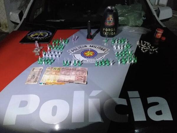 Força Tática prende traficante em Cruzeiro