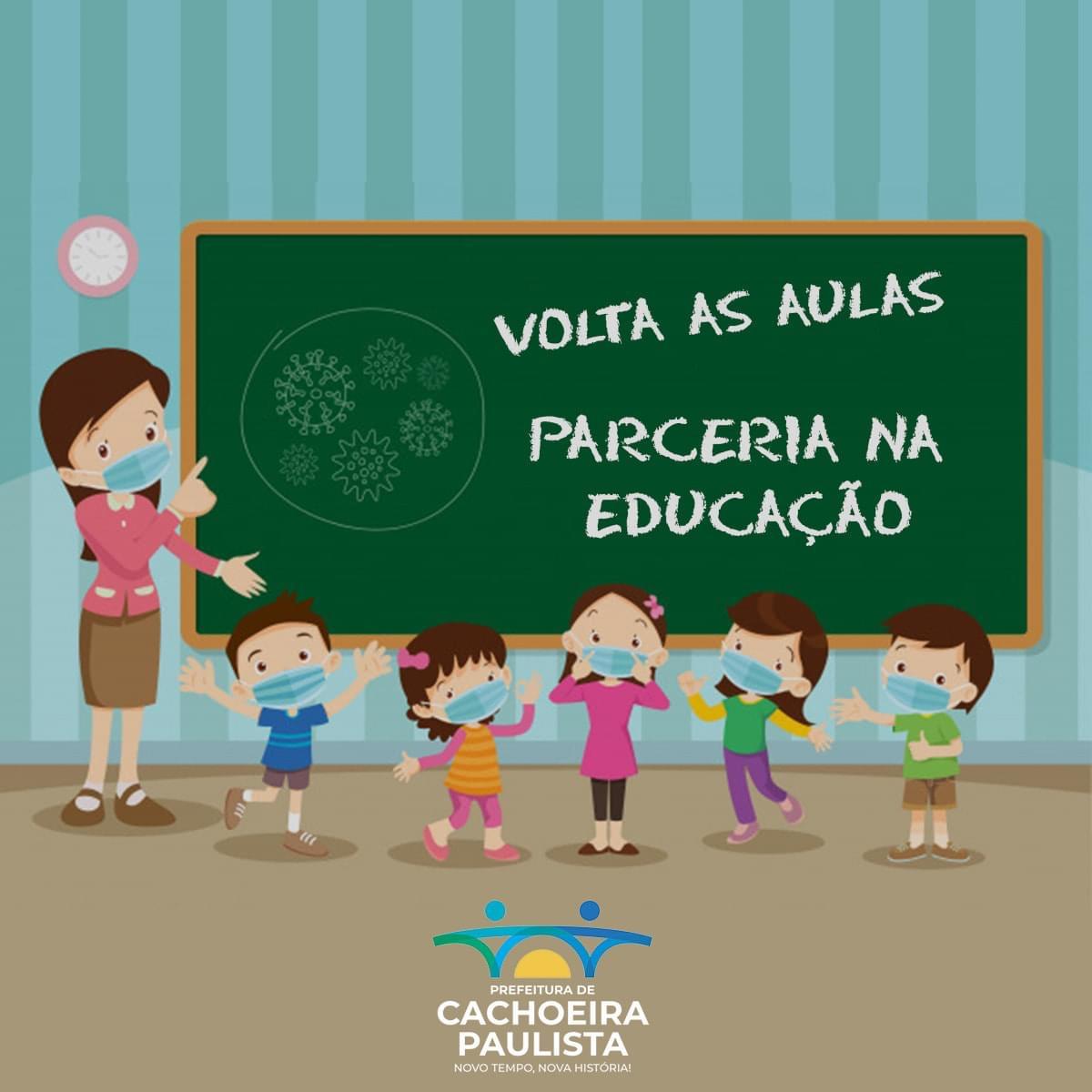 Educação é compartilhada em Cachoeira Paulista