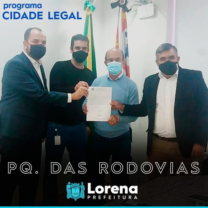Programa Cidade Legal continua no Parque das Rodovias