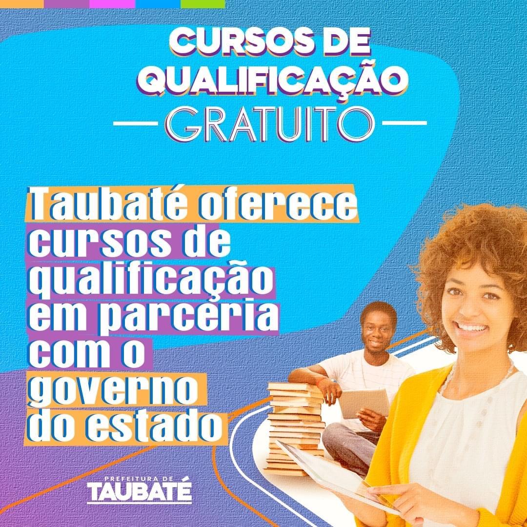 Prefeitura de Taubaté disponibiliza cursos de qualificação gratuitos
