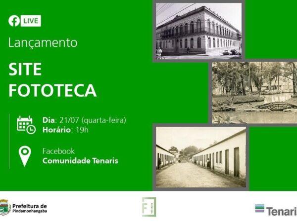 """Pinda lança site """"Fototeca"""" em live nesta quarta-feira (21)"""