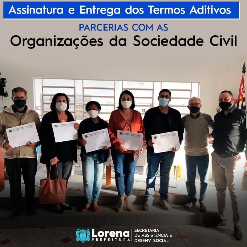 05 instituições lorenenses recebem R$ 711 mil
