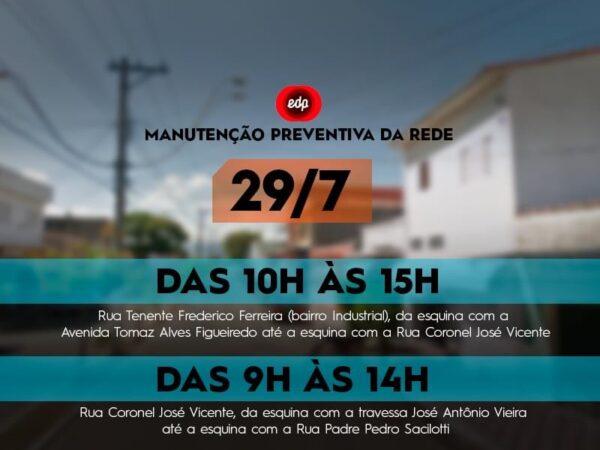 Secretaria de Trânsito interdita ruas de Lorena devido às manutenções realizadas nesta quinta (29)