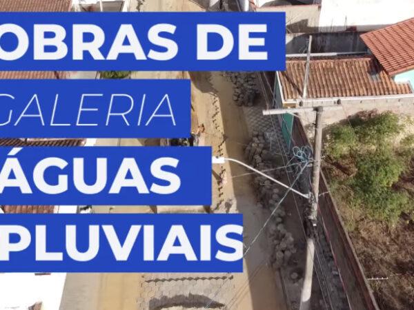 Prefeitura está próxima de finalizar as obras nas galerias de águas pluviais nos bairros Vila Brito e Vila Nunes