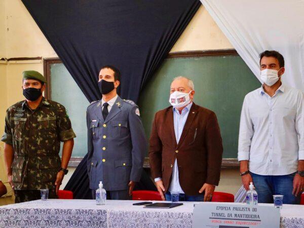Em Cruzeiro, contribuintes da Revolução Constitucionalista de 1932 são homenageados